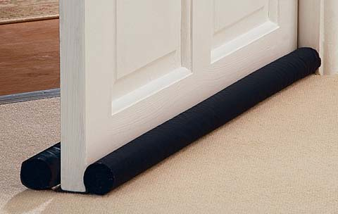 MAXIMUM PROTECTION: Double sided door draft stopper that slides under Twin Draft Guard DNA Energy Saving Under Door Draft Stopper, Single, Navy. by Twin Draft Guard. $ $ 16 99 Prime. FREE Shipping on eligible orders. out of 5 stars 2, Product Features.
