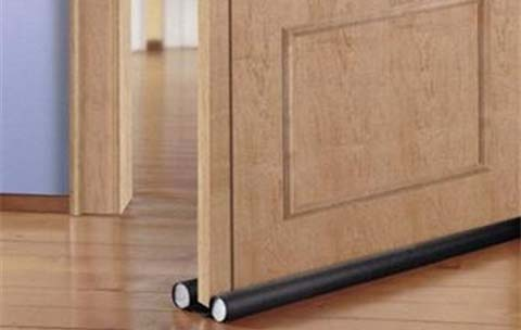 Double Sided Draught Excluder Draft Stopper Easy To Fit